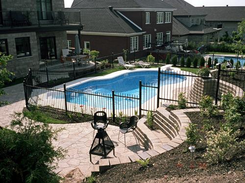 Contours de piscines n°8