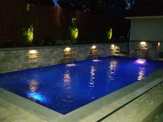 Contours de piscines n°12